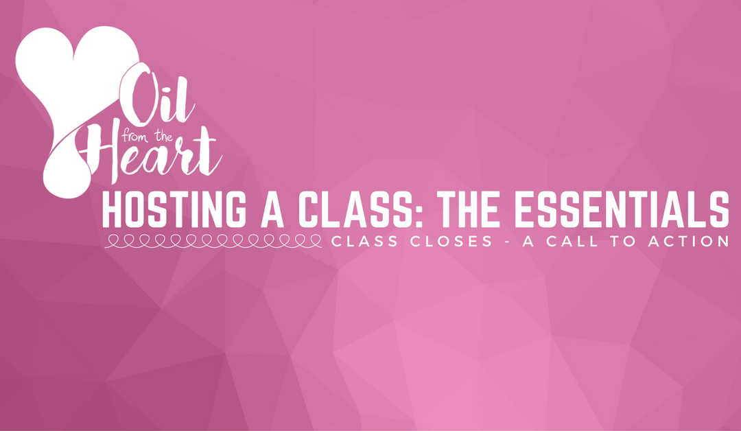 Class Closes – A Call To Action